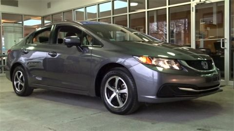 Certified Used Honda Civic SE
