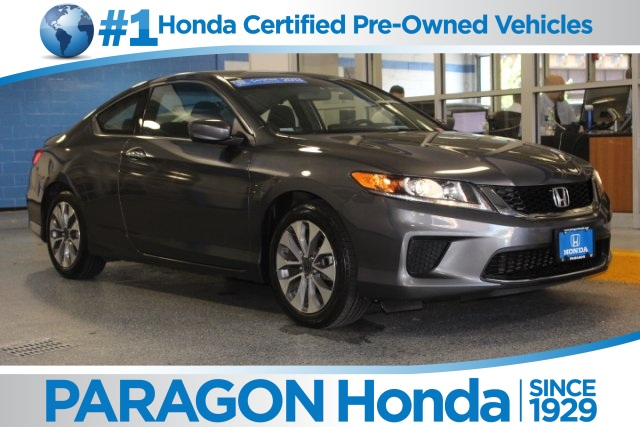 Certified pre owned 2013 honda accord lx s 2d coupe in for Honda used certified