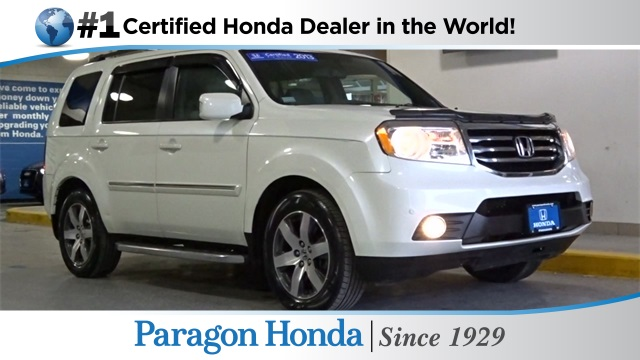 Certified pre owned 2013 honda pilot touring 4d sport for Certified pre owned honda pilot 2016